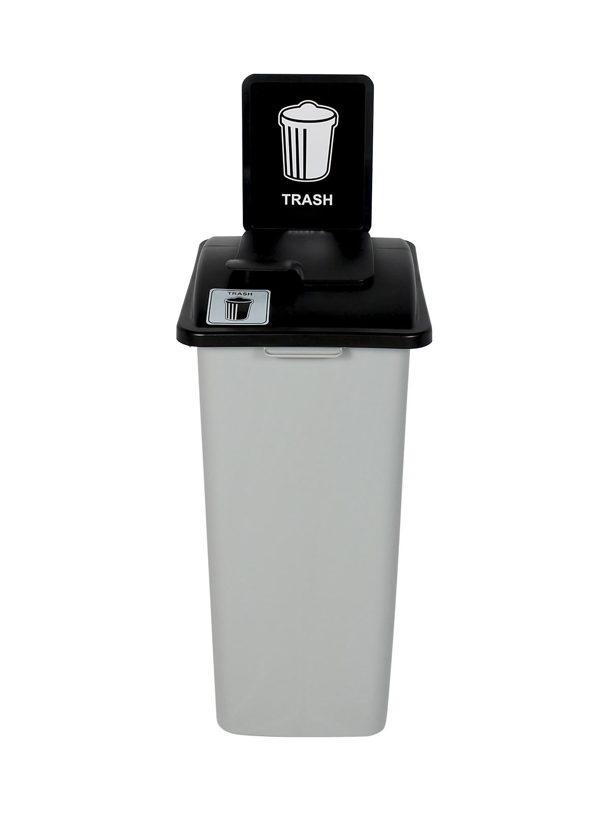 WASTE WATCHER XL - Single - Trash - Solid Lift - Grey-Black