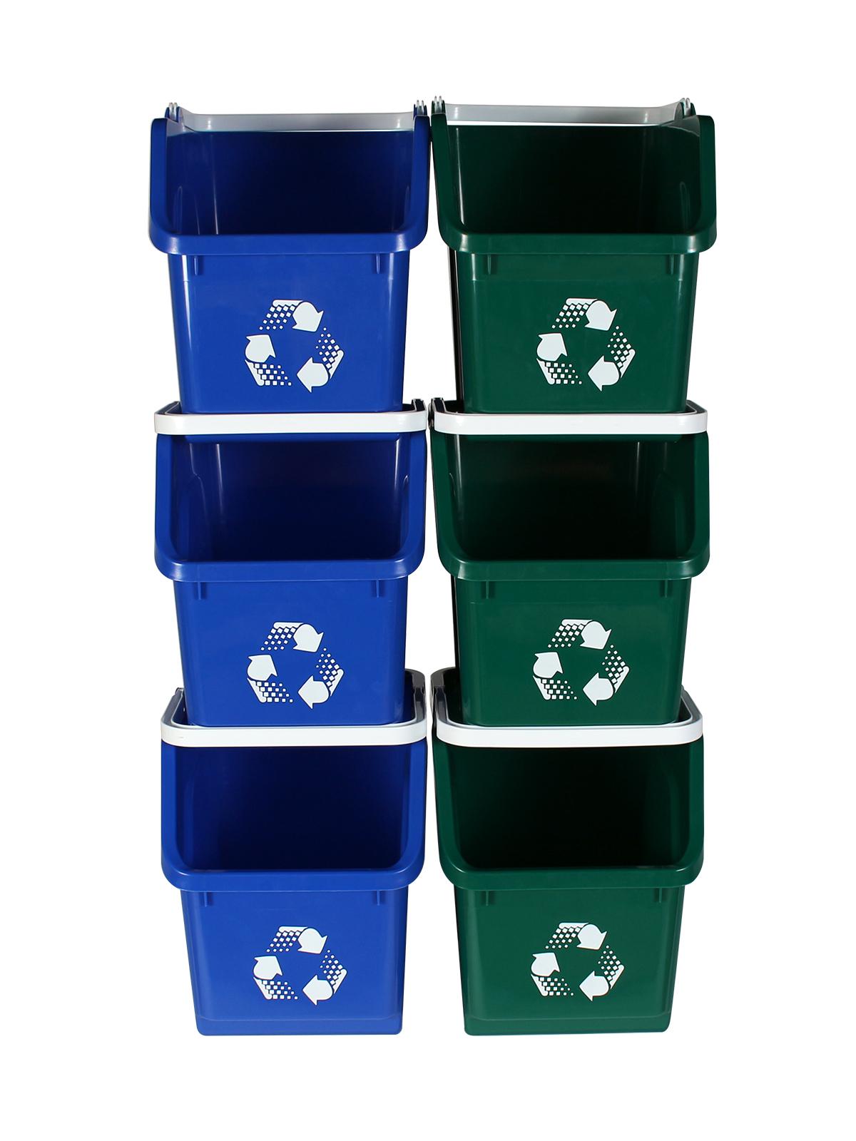 MULTI RECYCLER (6 Pack) - Double - Mobius Loop - Full - Blue-Green