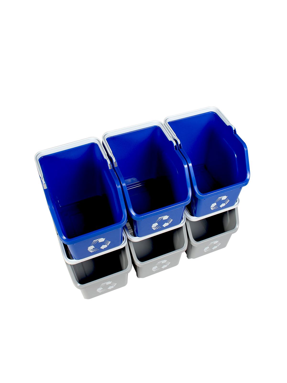 MULTI RECYCLER (20 Pack) - Double - Mobius Loop - Full - Blue-Grey