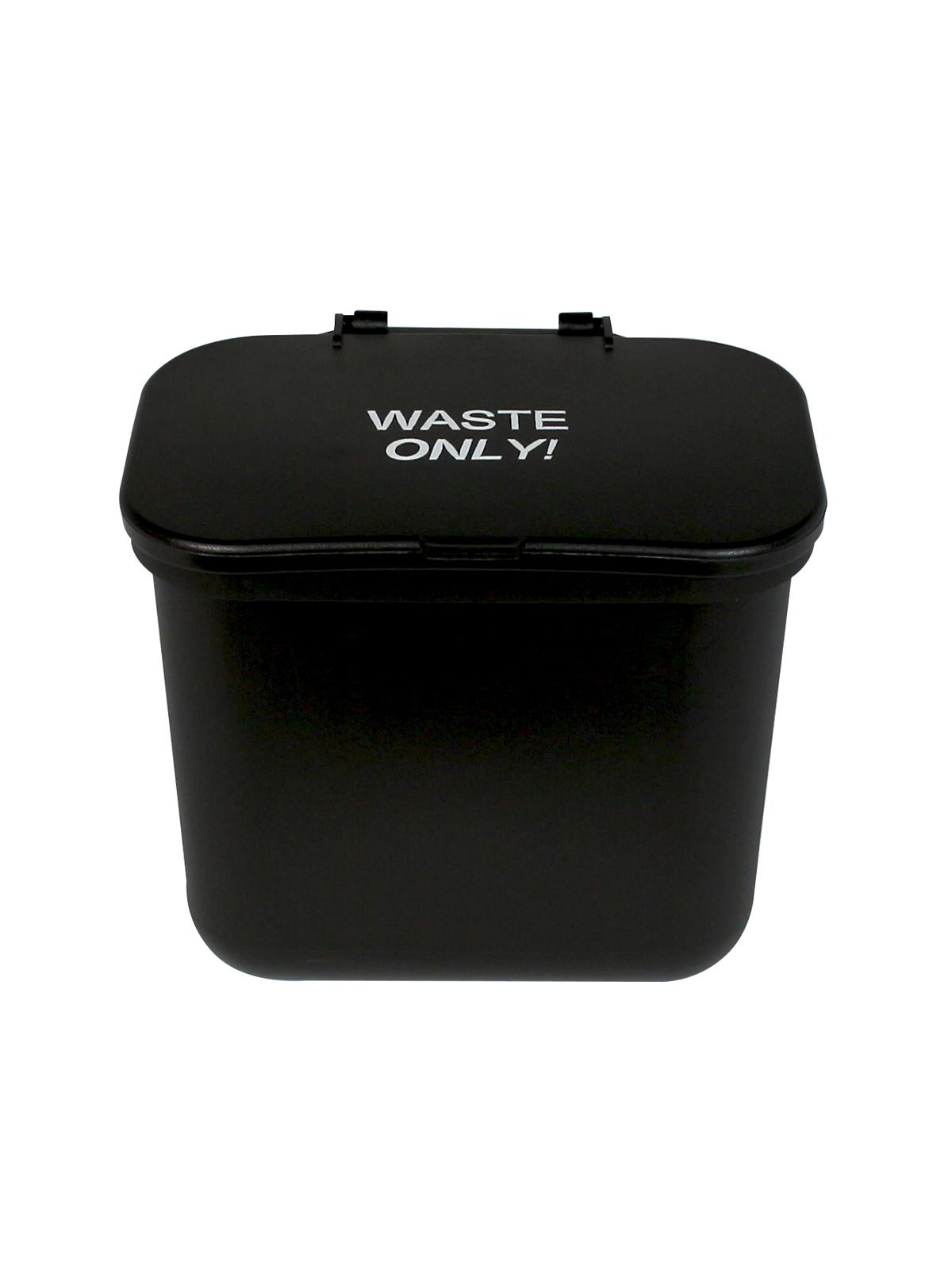 HANGING WASTE BASKET - Single - Waste - Solid Lift - Black