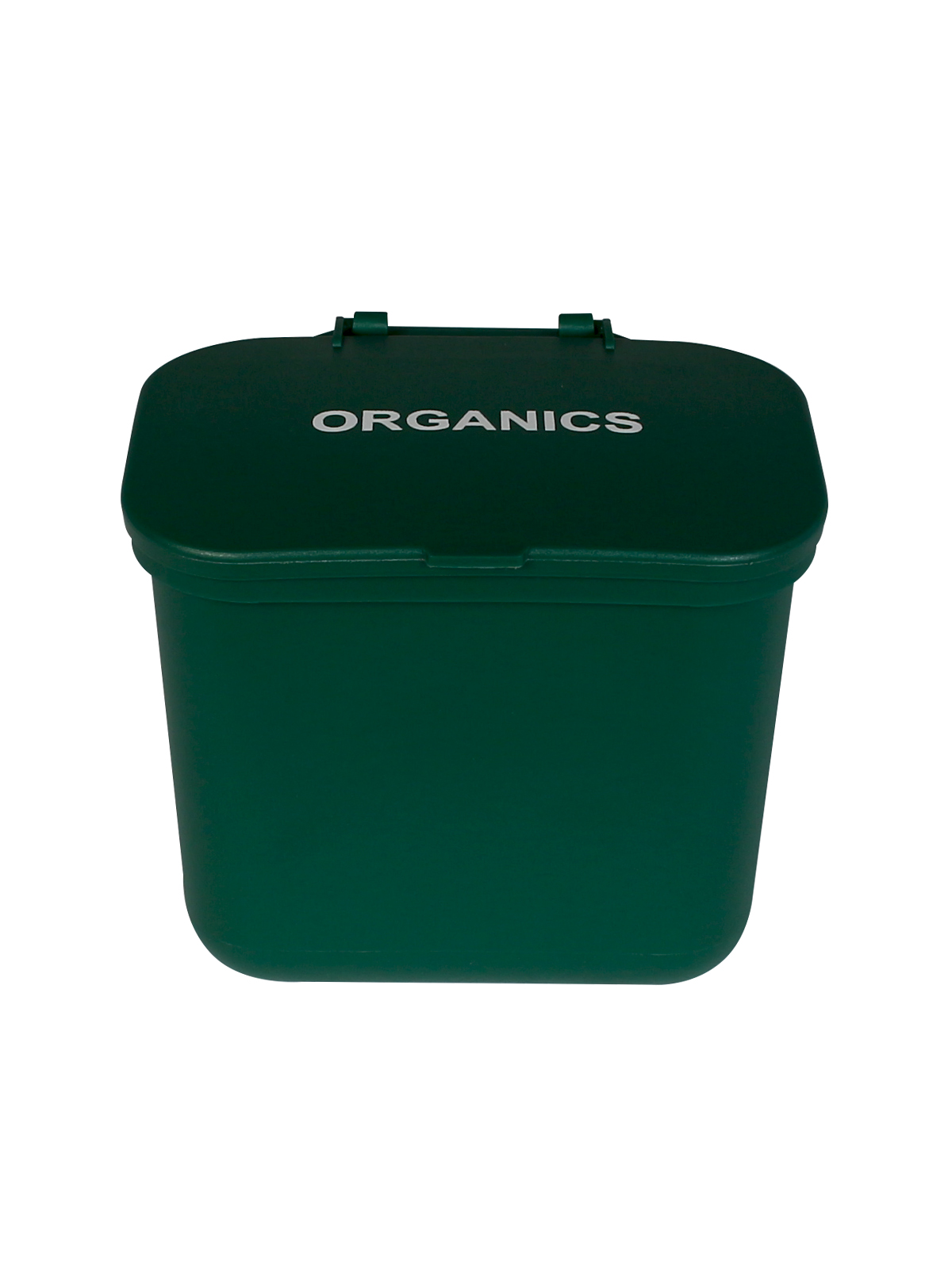 HANGING WASTE BASKET - Single - Organics - Solid Lift - Green
