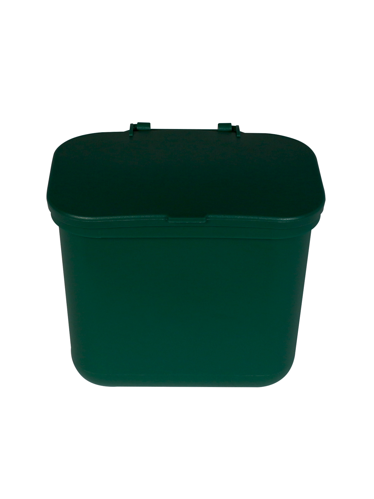 HANGING WASTE BASKET - Single - Solid Lift - Green