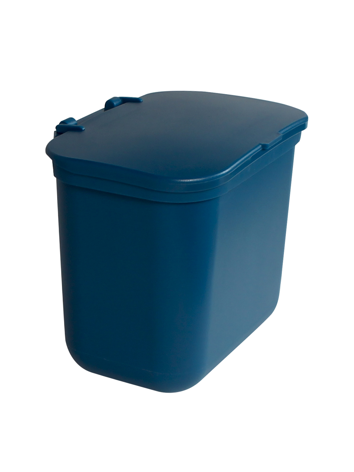 KIT HANGING WASTE BASKET W/ LID - BLU BLANK LID