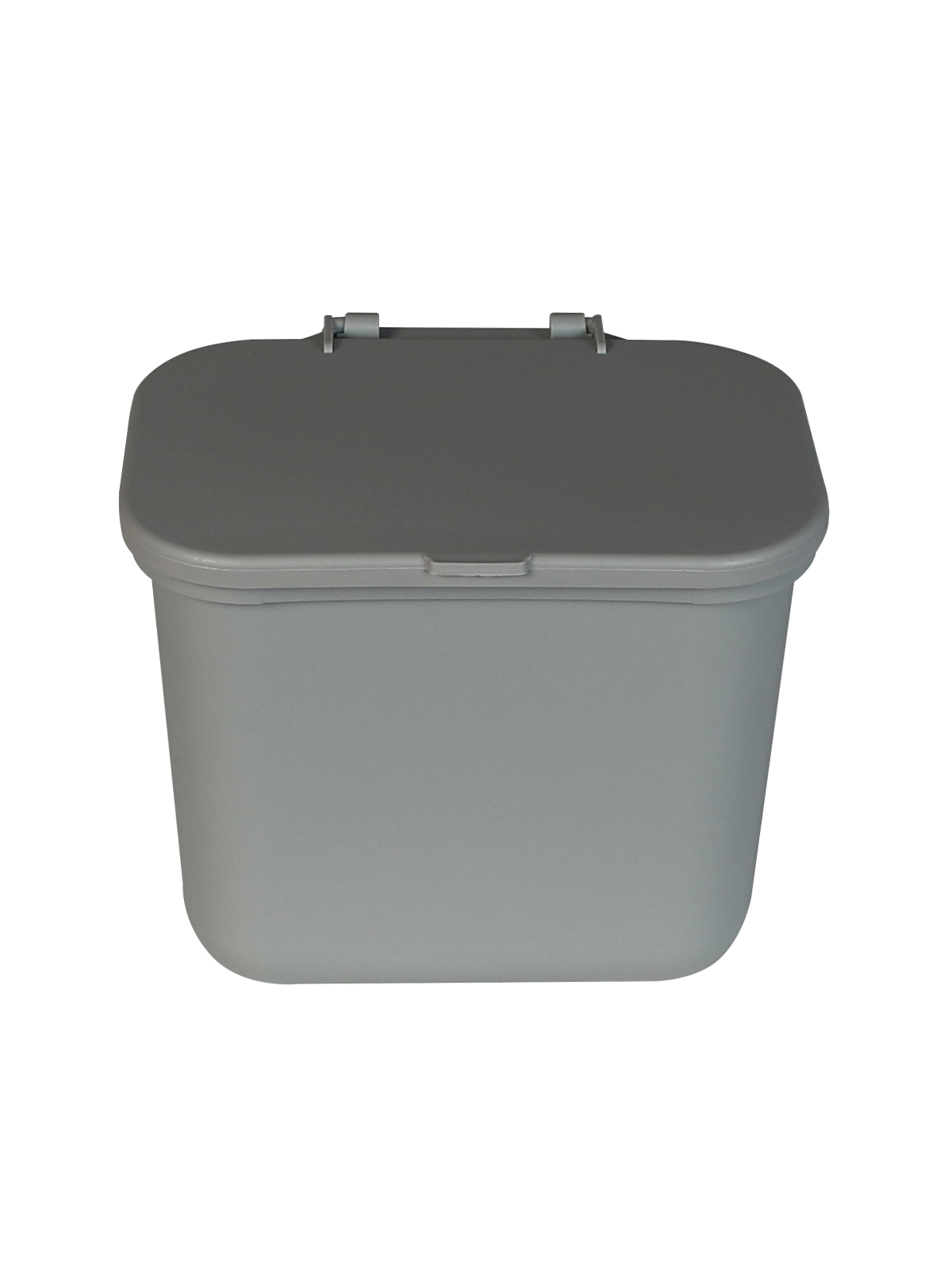 HANGING WASTE BASKET - Single - Solid Lift - Grey