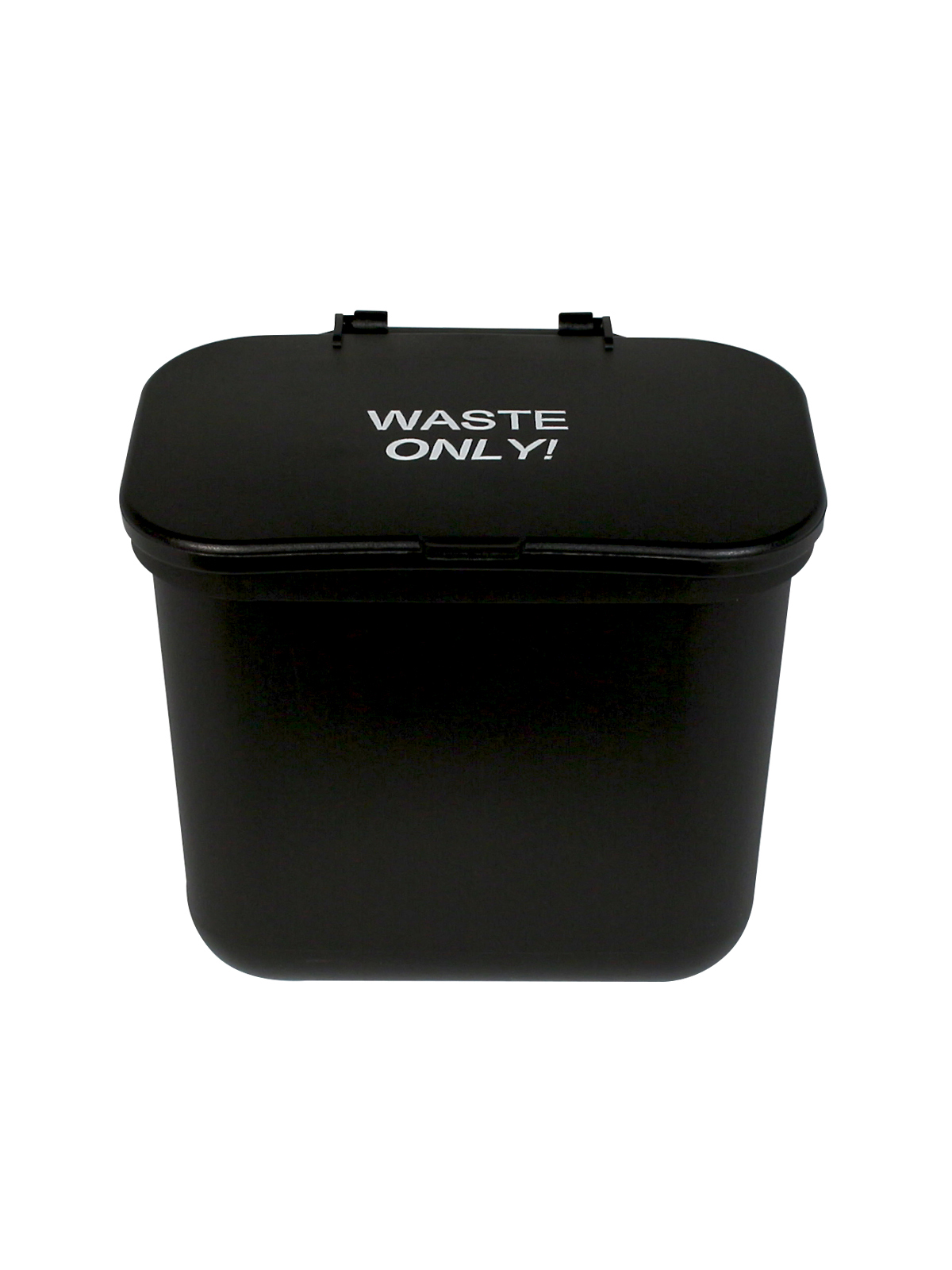 HANGING WASTE BASKET (8 Pack) - Single - Waste - Solid Lift - Black