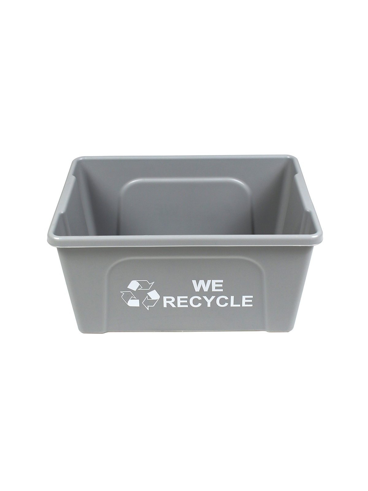 DESKSIDE RECYCLER - Single - Body - We Recycle - Executive Grey