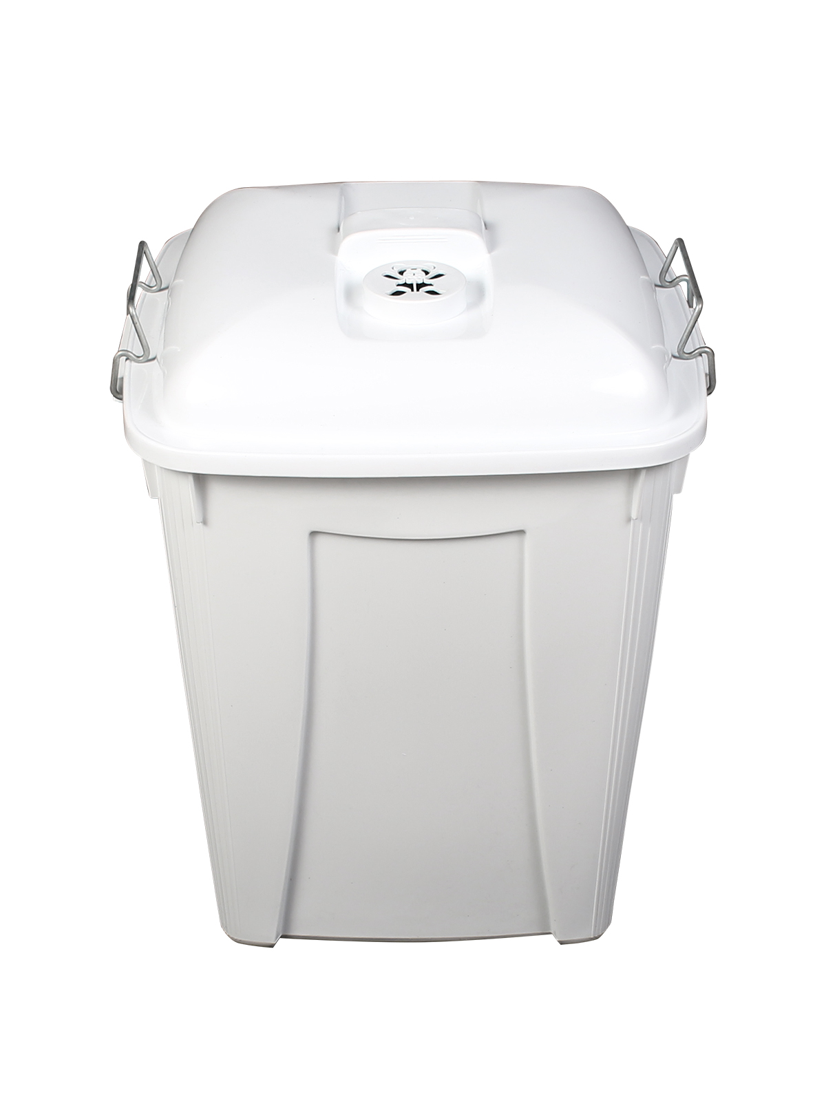 DIAPER PAIL (6 Pack) - Single - 14 G - Vented Lift - White