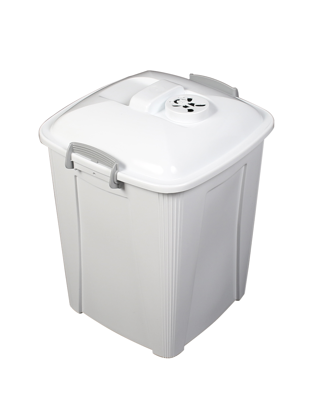 DIAPER PAIL - Single - Unit - 7 G - Vented Lift - White