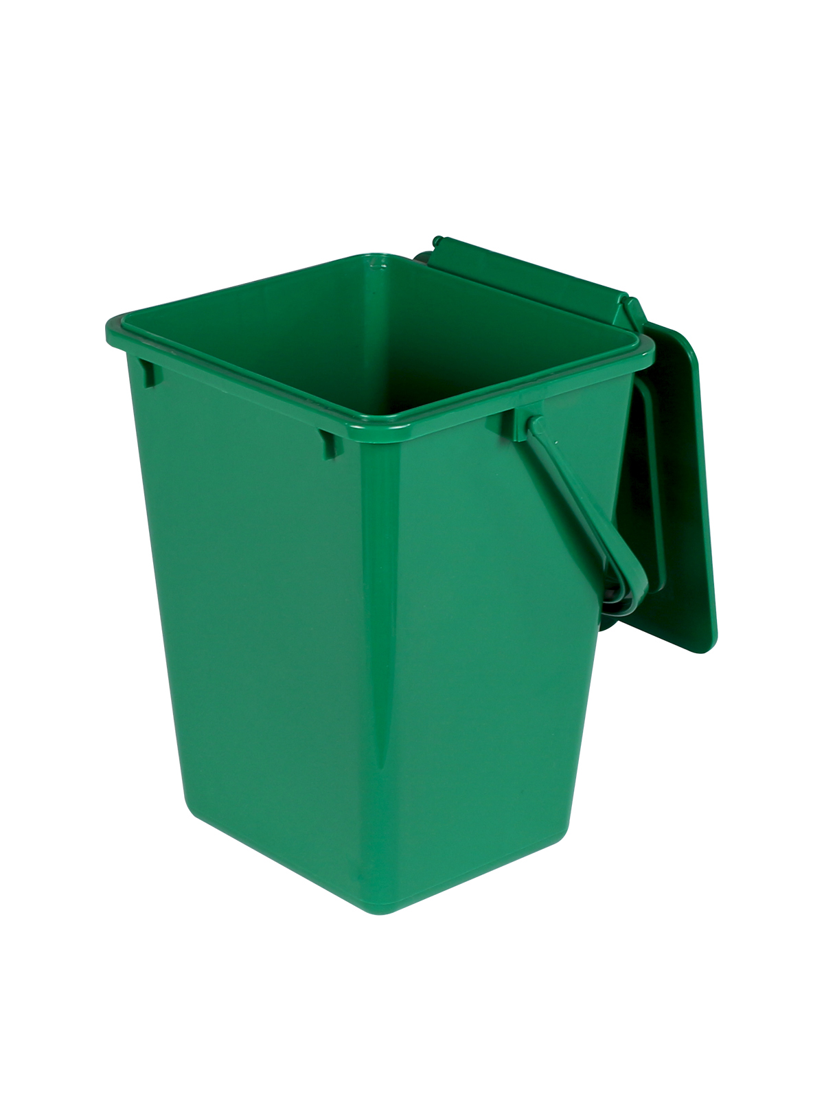 KITCHEN COMPOSTER - Single - Unit - 2 - Solid Lift - Compost Green