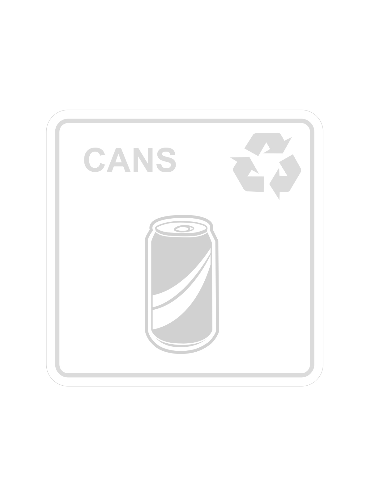 SQUARE LABEL CANS ONLY