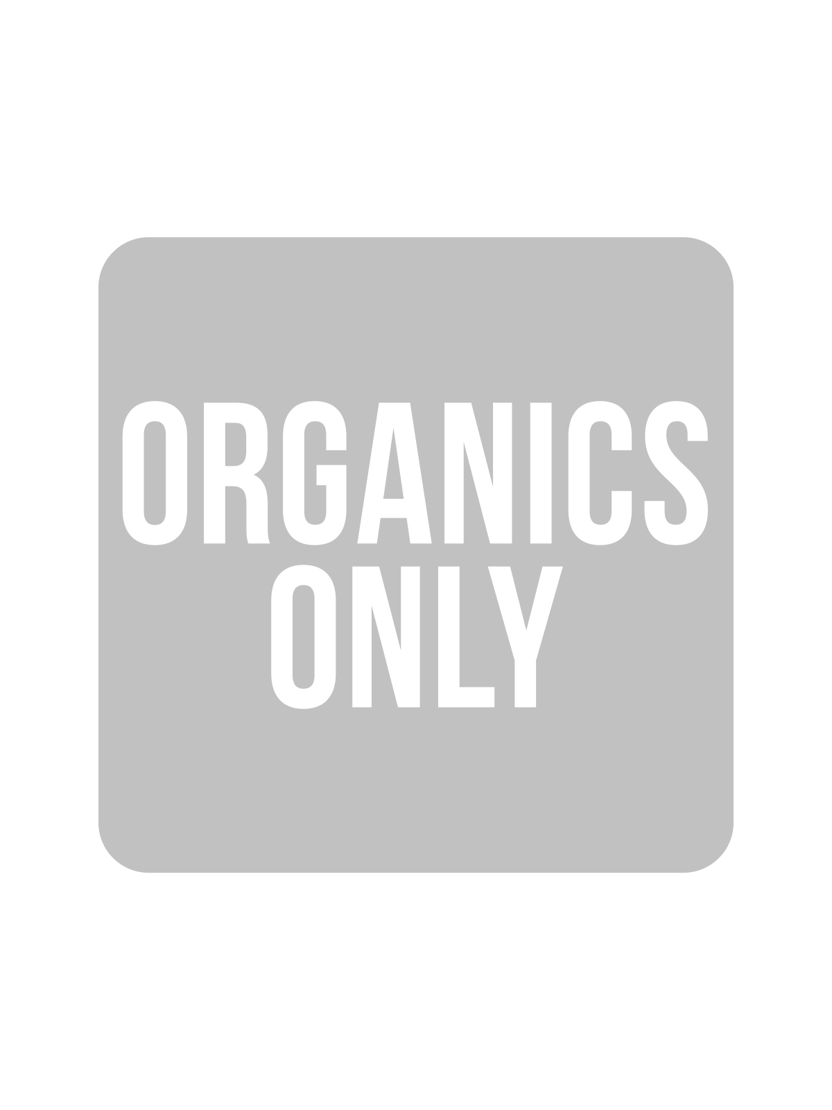 SQUARE LABEL KIDS - ORGANICS ONLY
