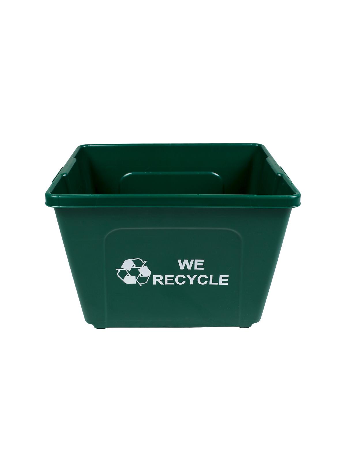 CURBSIDE - Body - 14 G - Mobius Loop-We Recycle 2 Sides - Dark Green
