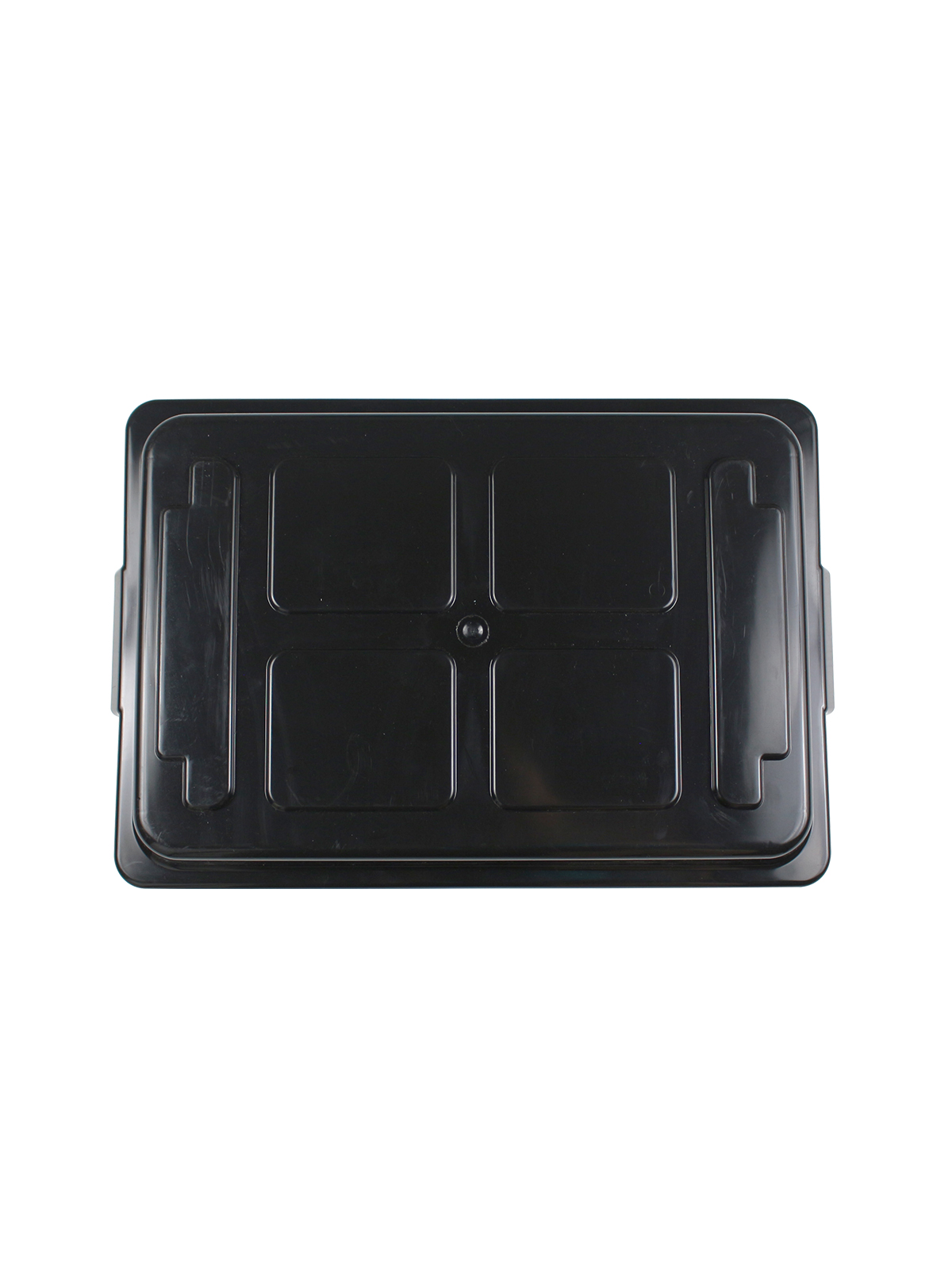 CURBSIDE - Lid - 18 G - Solid - Black