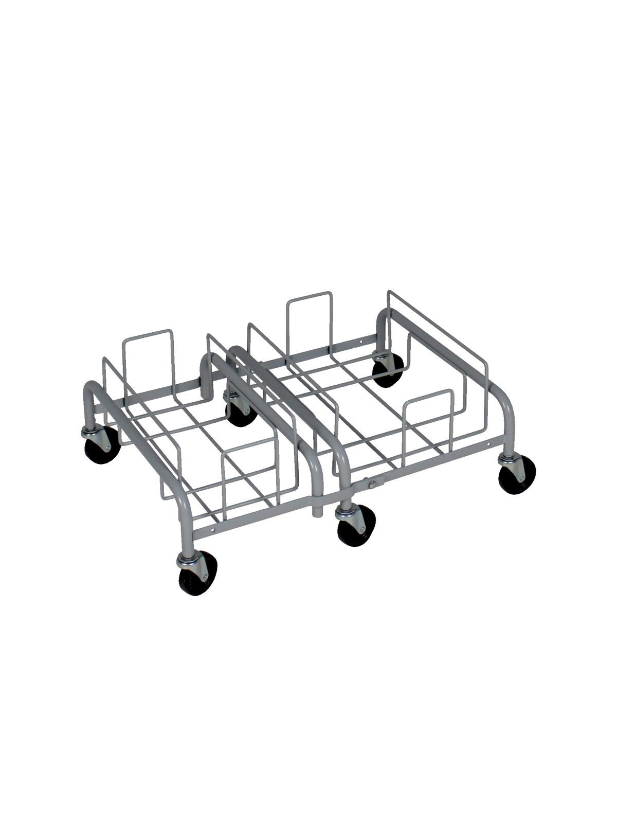 WASTE WATCHER XL - Double - Dolly - Executive Grey