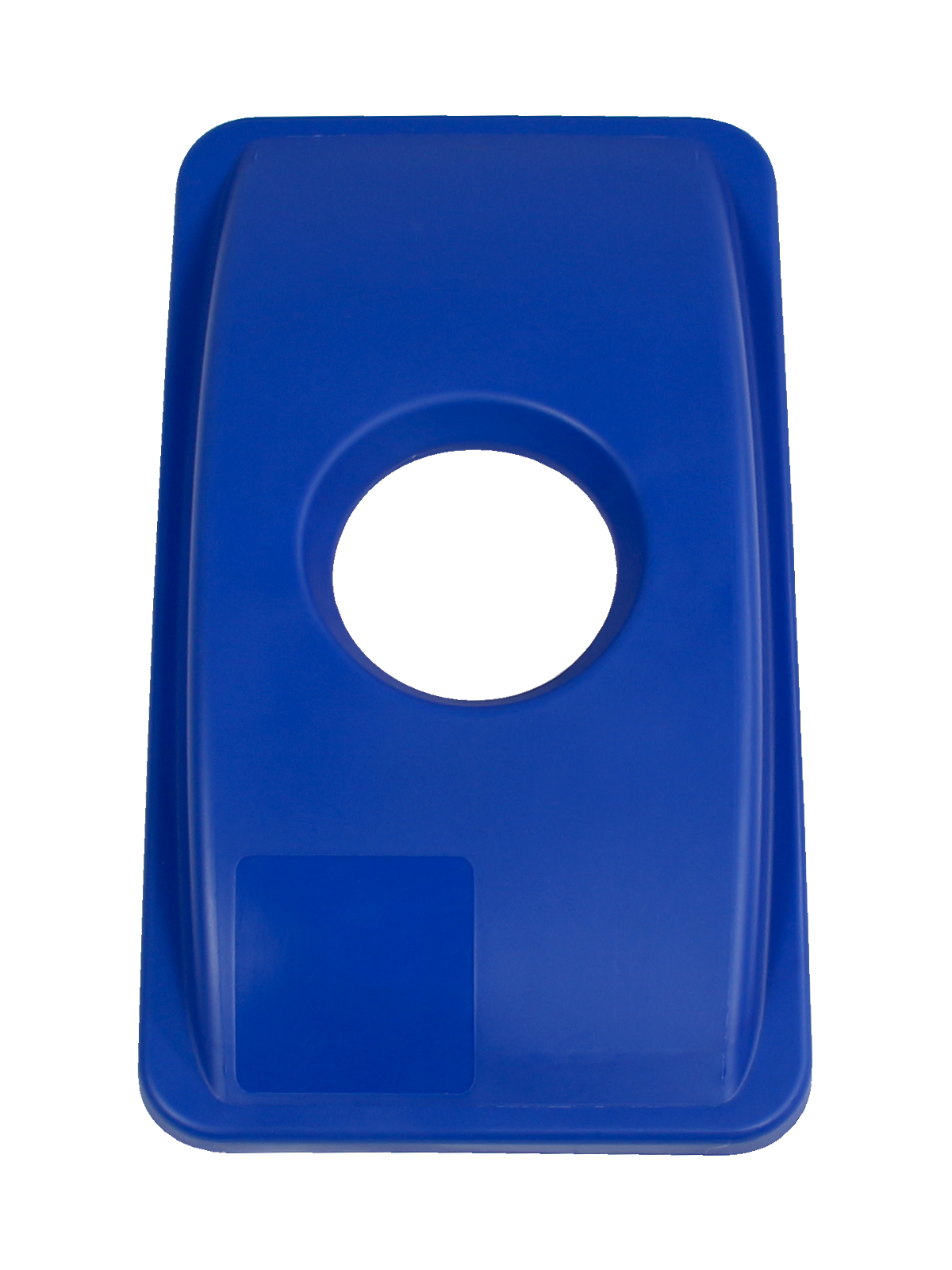 WASTE WATCHER - Single - Lid - Circle - Royal Blue