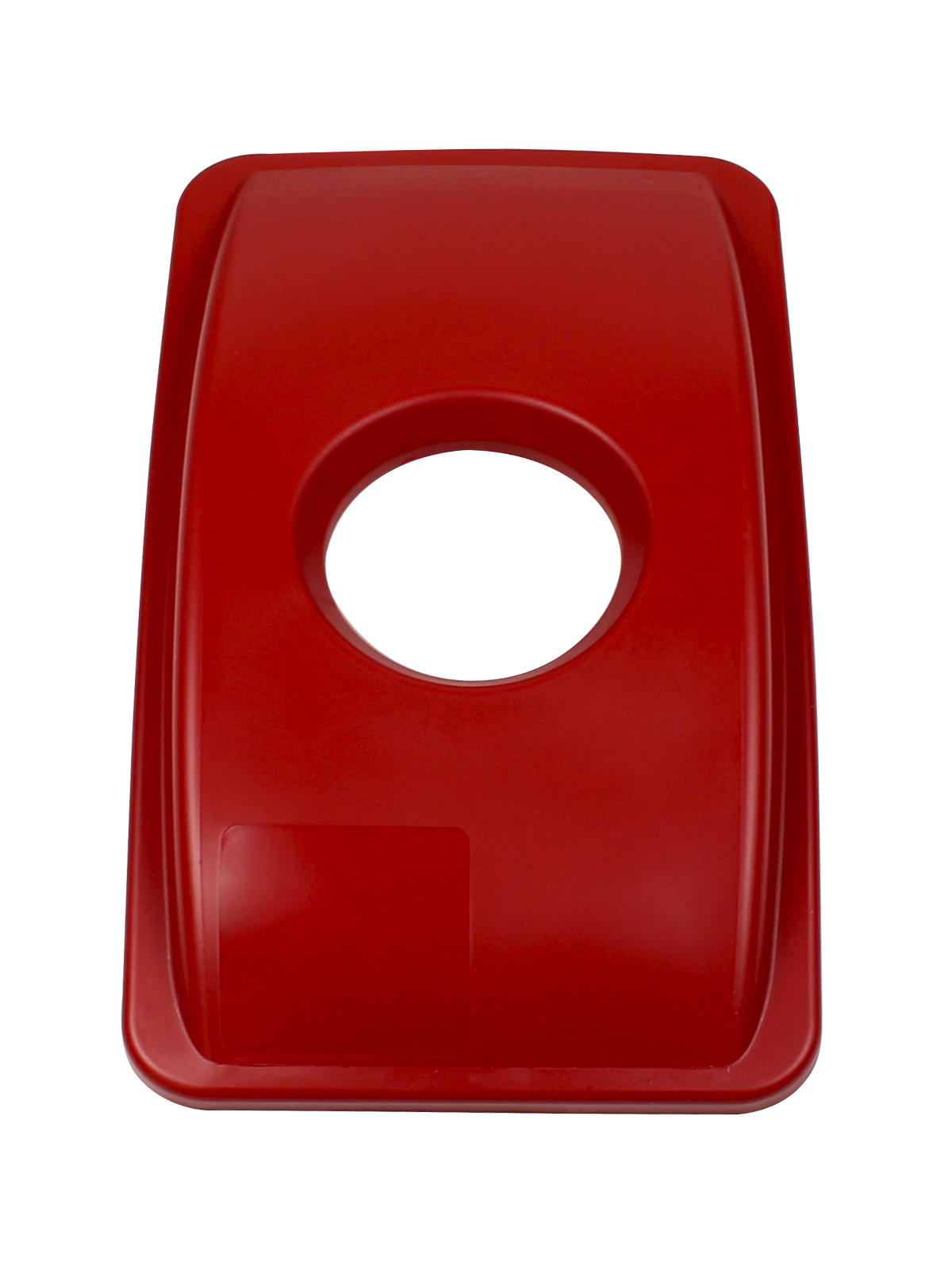WASTE WATCHER - Single - Lid - Circle - Red