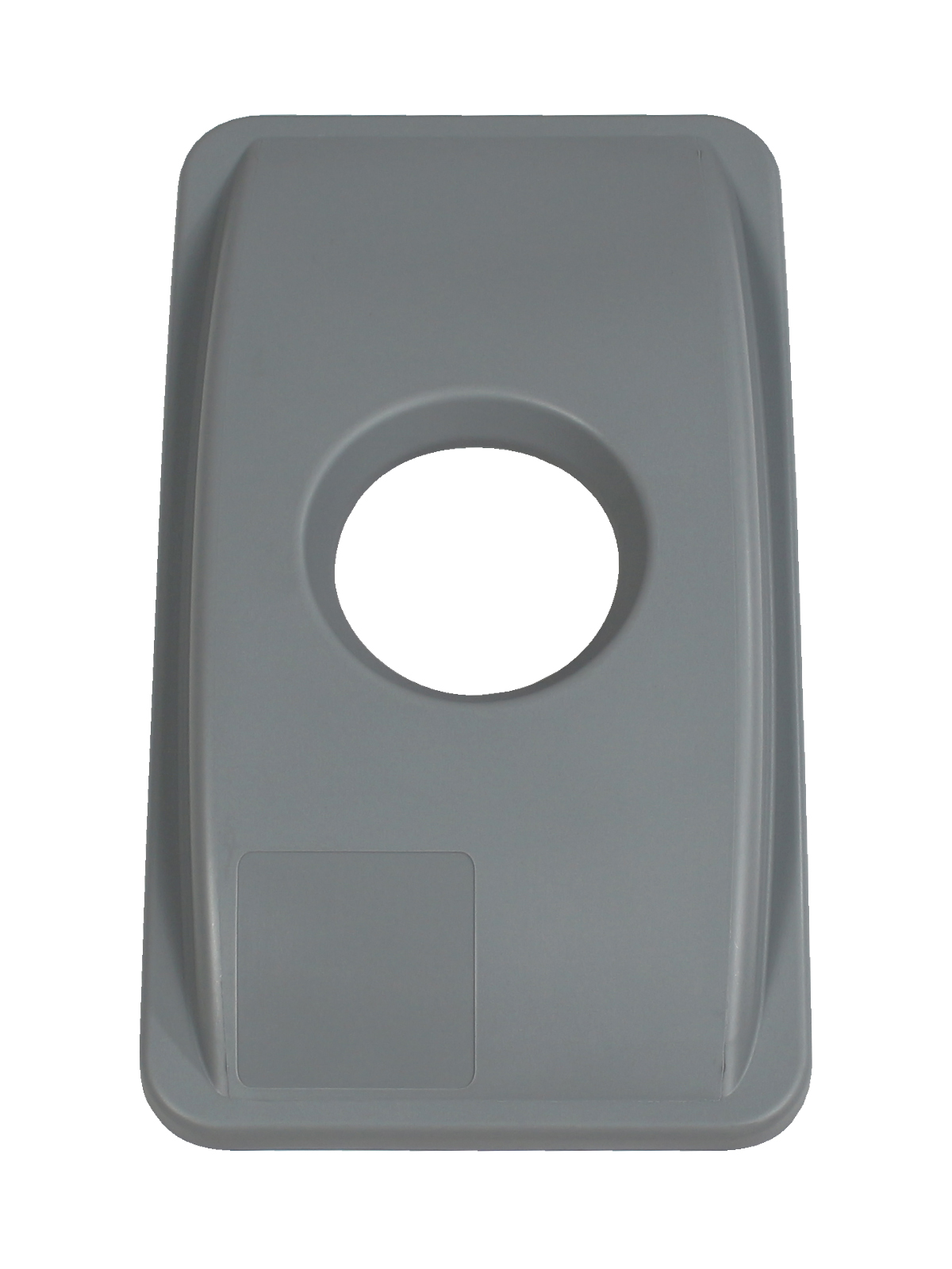 WASTE WATCHER - Single - Lid - Circle - Executive Grey