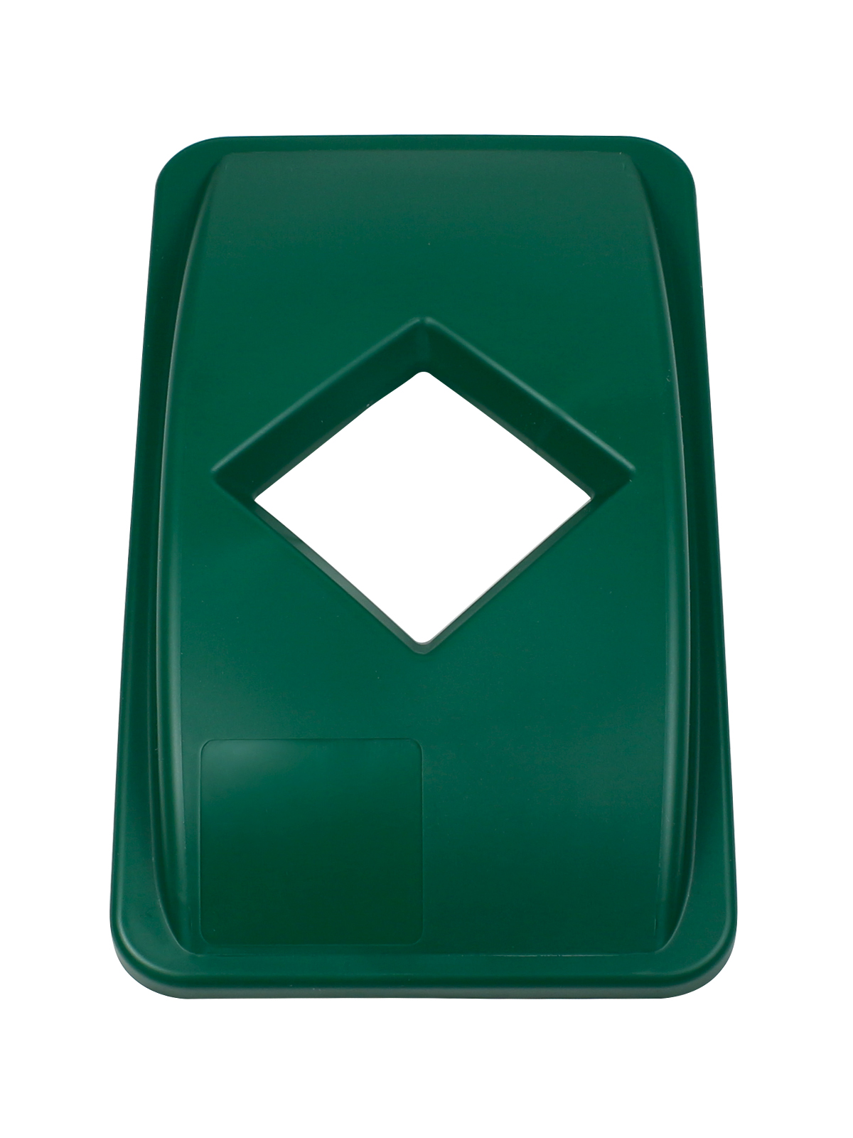 WASTE WATCHER - Single - Lid - Diamond - Dark Green