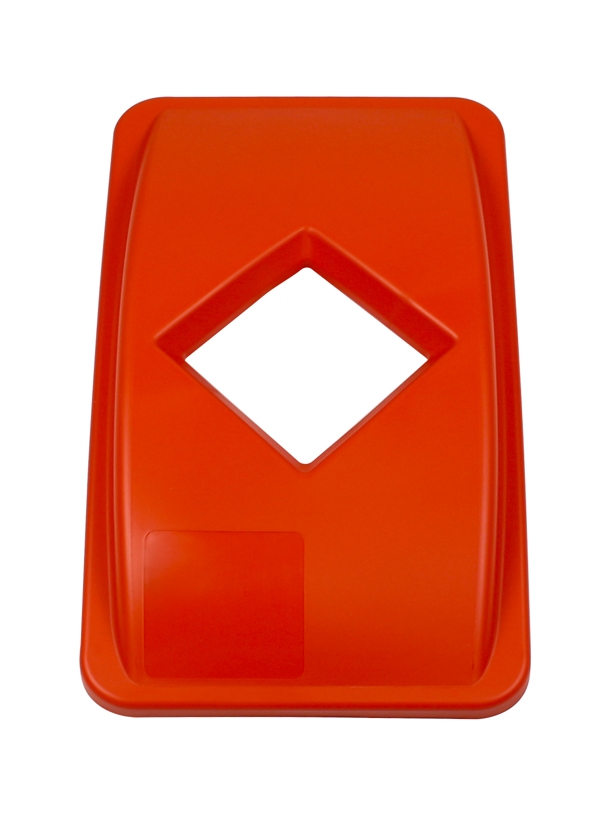 WASTE WATCHER - Single - Lid - Diamond - Orange