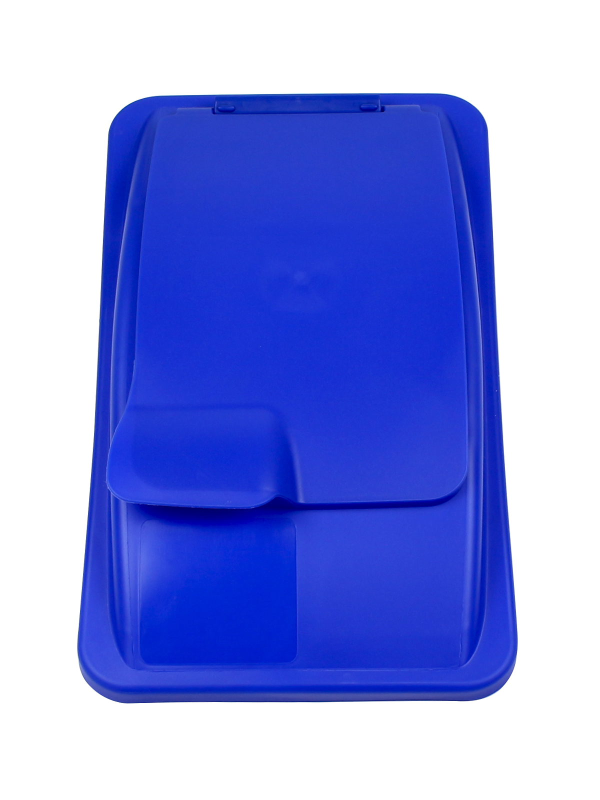 WASTE WATCHER - Single - Lid - Solid Lift - Royal Blue