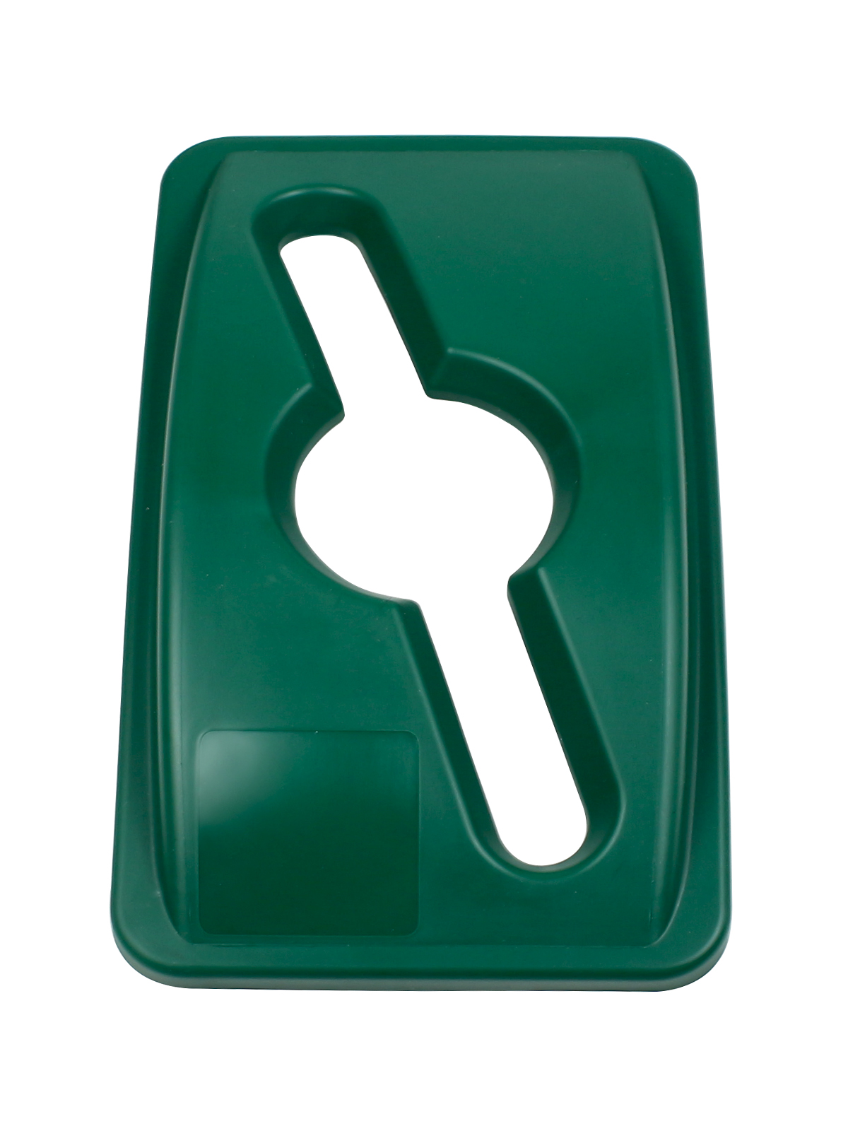WASTE WATCHER - Lid - Mixed - Dark Green