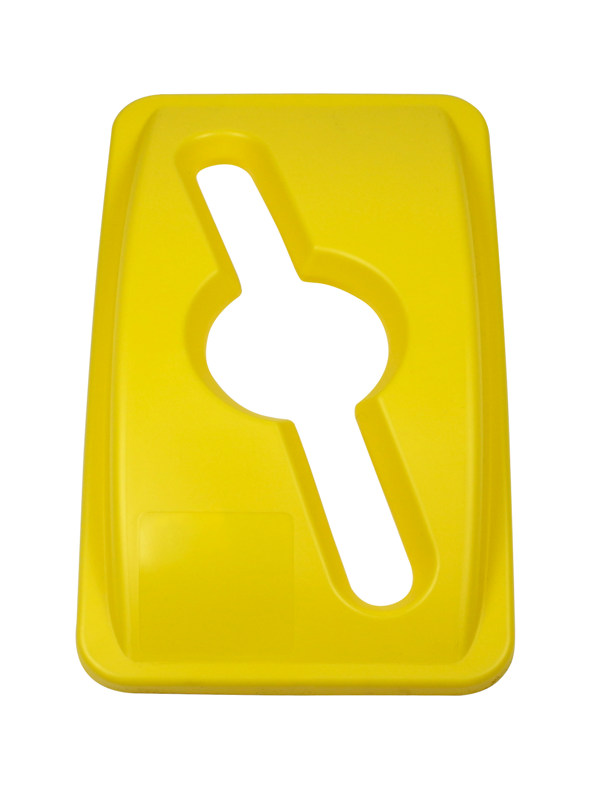 WASTE WATCHER - Single - Lid - Mixed - Yellow