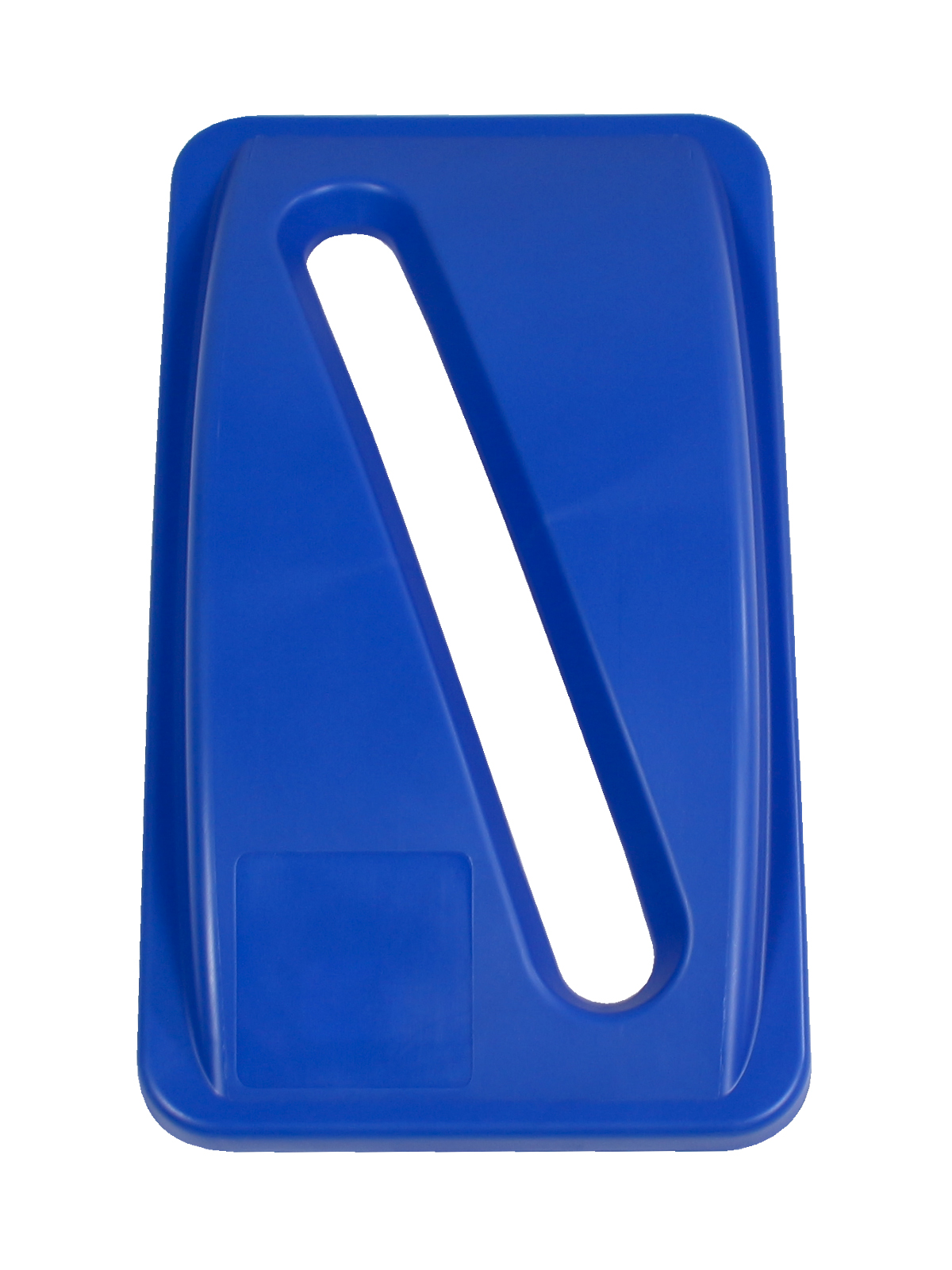 WASTE WATCHER - Single - Lid - Slot - Royal Blue