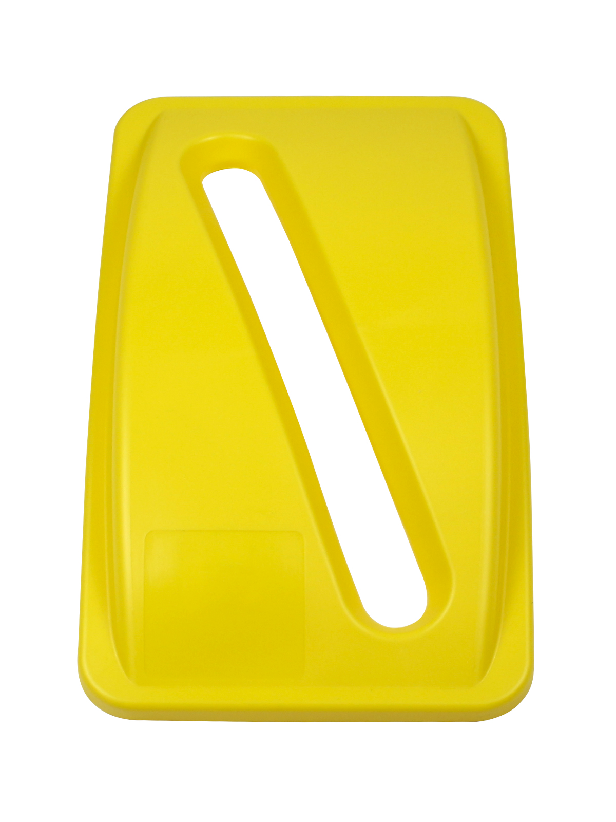 WASTE WATCHER - Lid - Slot - Yellow
