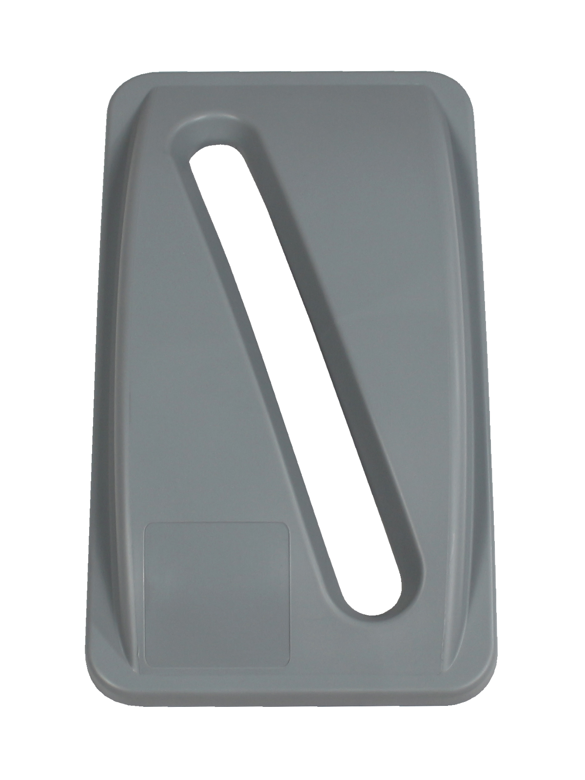 WASTE WATCHER - Single - Lid - Slot - Executive Grey