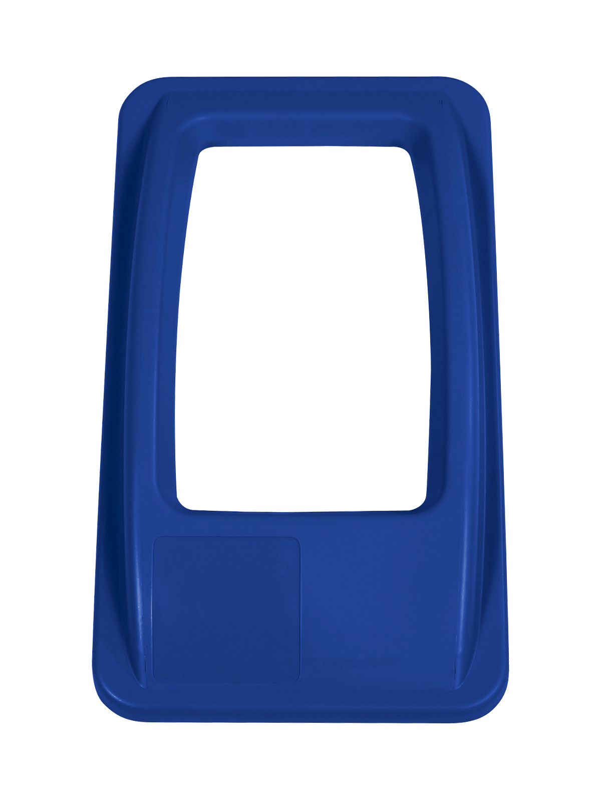 WASTE WATCHER - Single - Lid - Full - Royal Blue