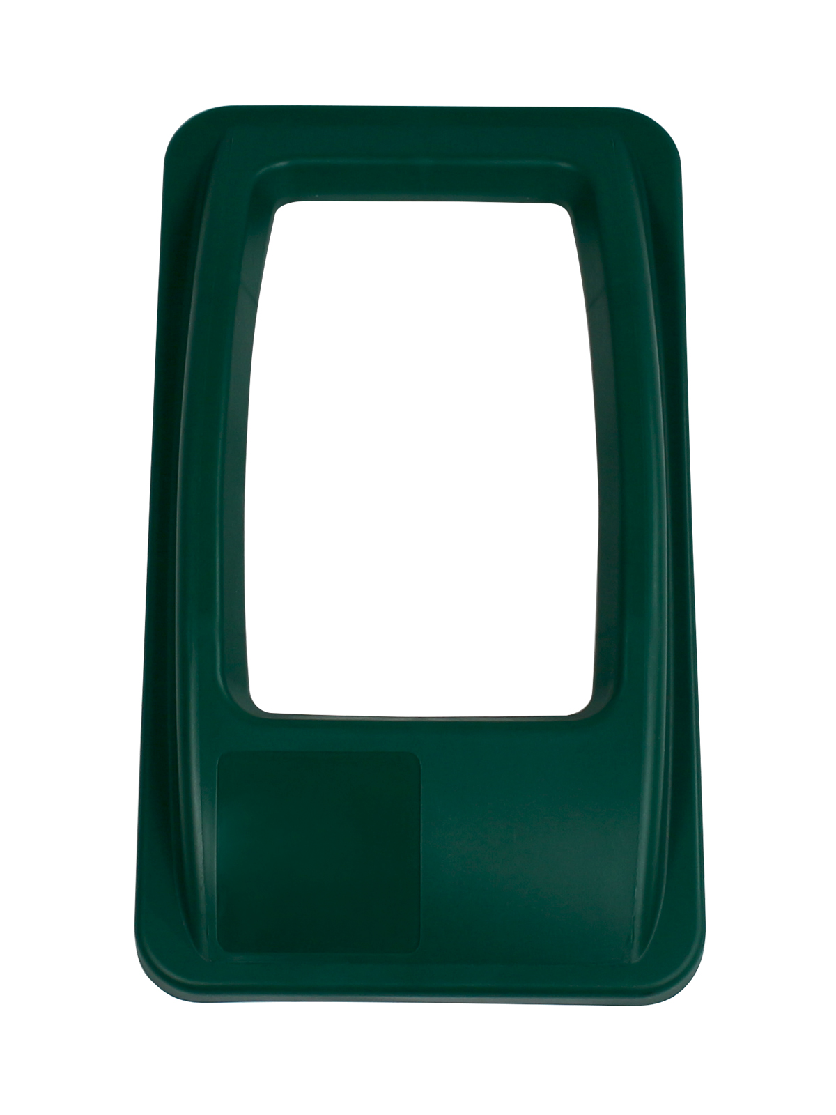 WASTE WATCHER - Single - Lid - Full - Dark Green