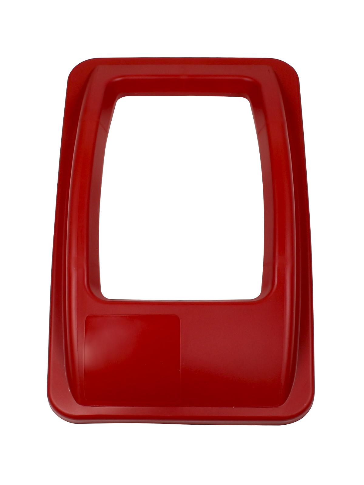 WASTE WATCHER - Single - Lid - Full - Red
