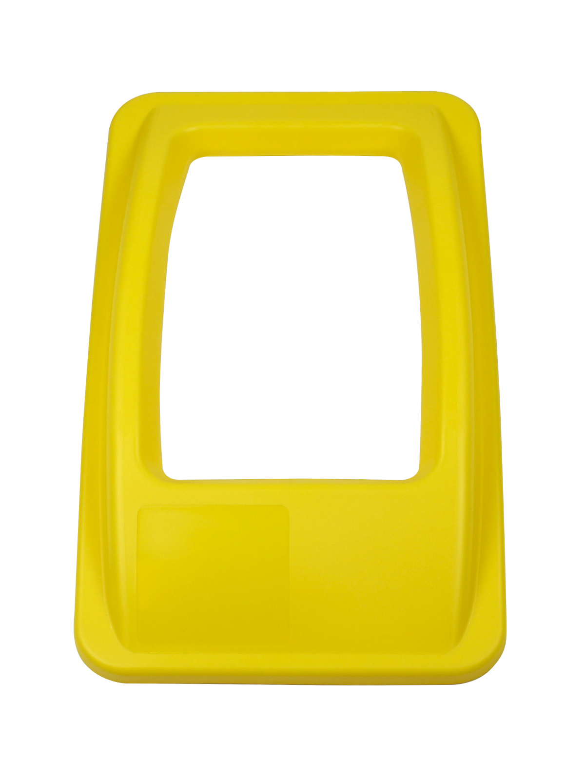 WASTE WATCHER - Single - Lid - Full - Yellow