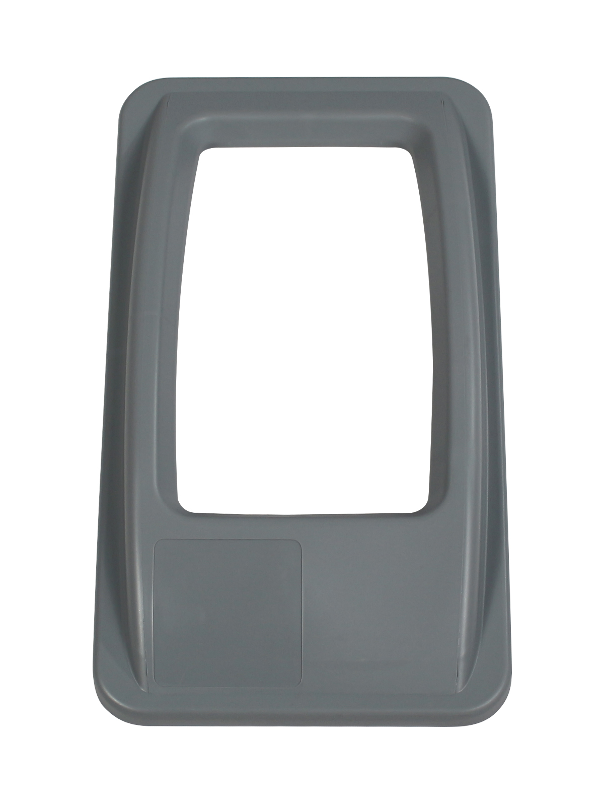 WASTE WATCHER - Single - Lid - Full - Executive Grey