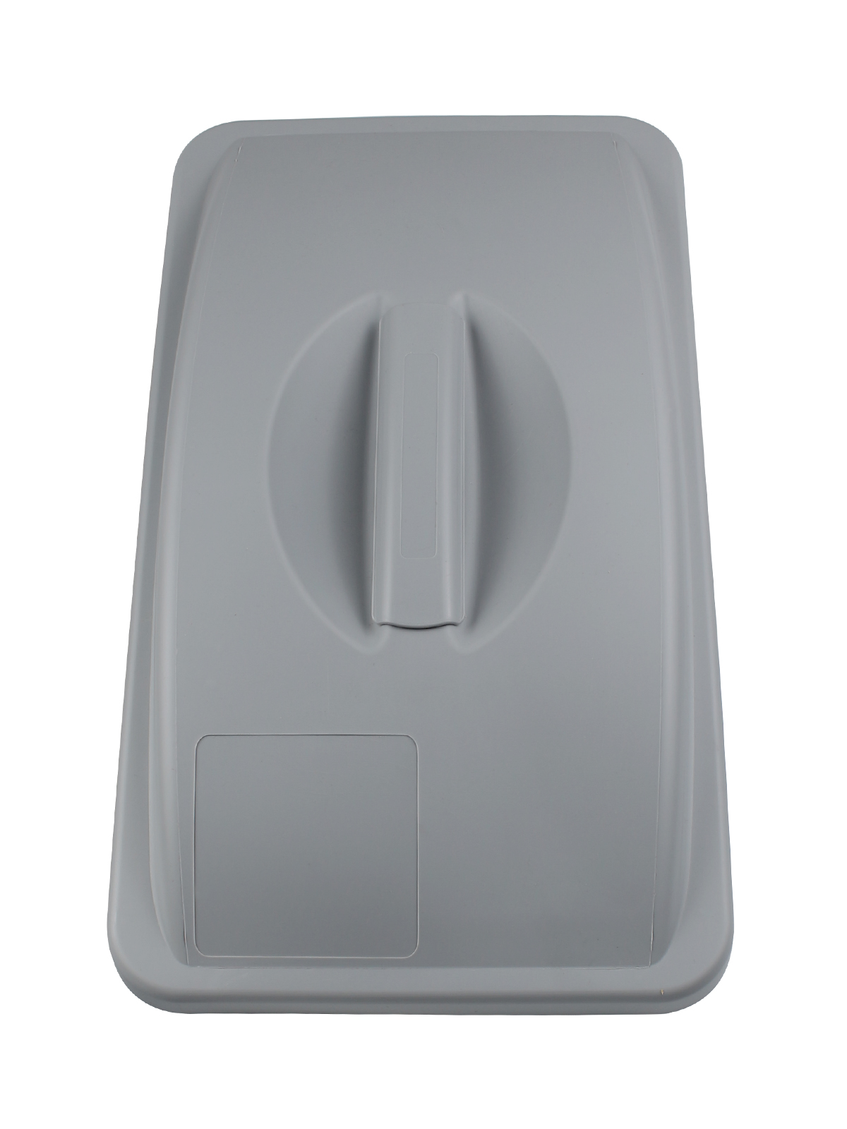 WASTE WATCHER - Single - Lid - Solid - Executive Grey