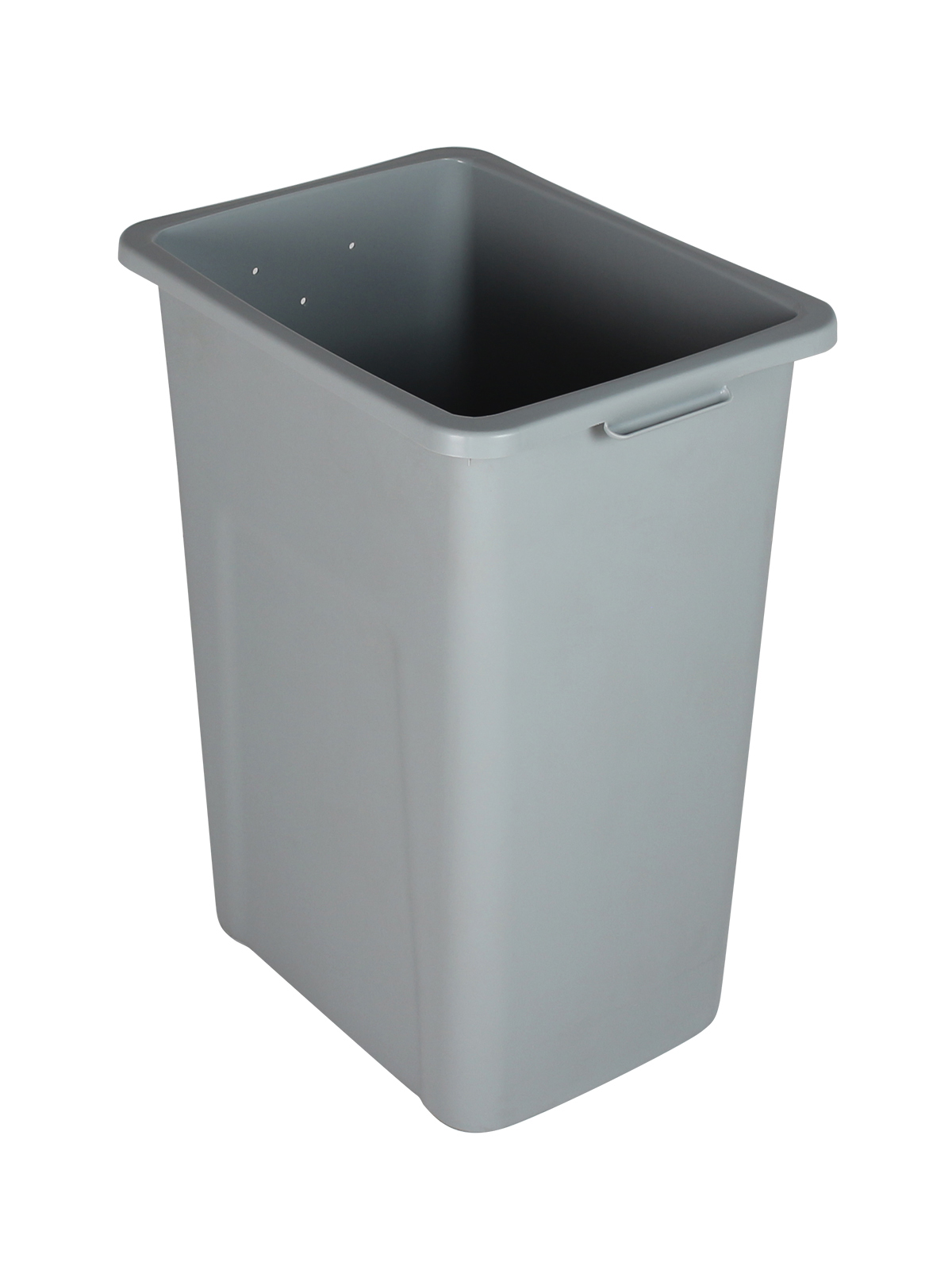 WASTE WATCHER® XL - 27 - PREDRILLED ON 2 SIDES & 1 END - EXECUTIVE GREY