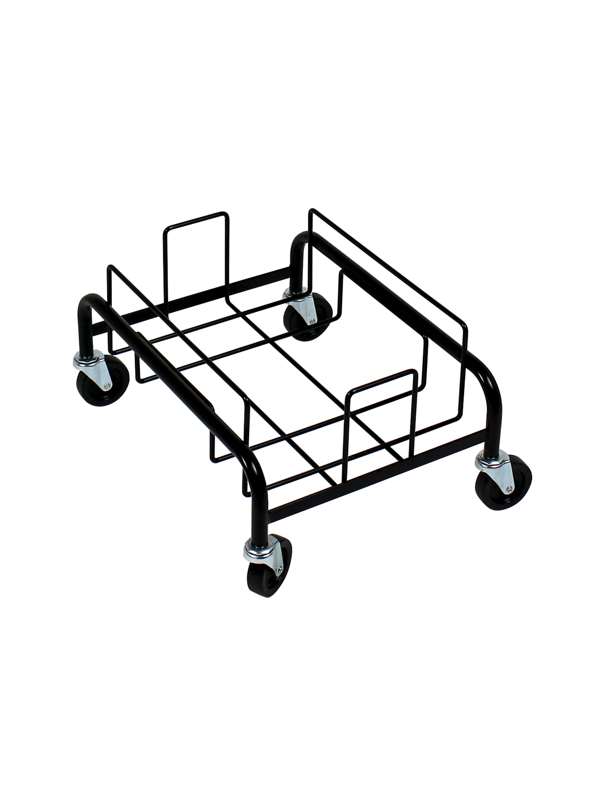 WASTE WATCHER® XL - SINGLE DOLLY [1 DOLLY, 4 CASTERS] - BLACK title=