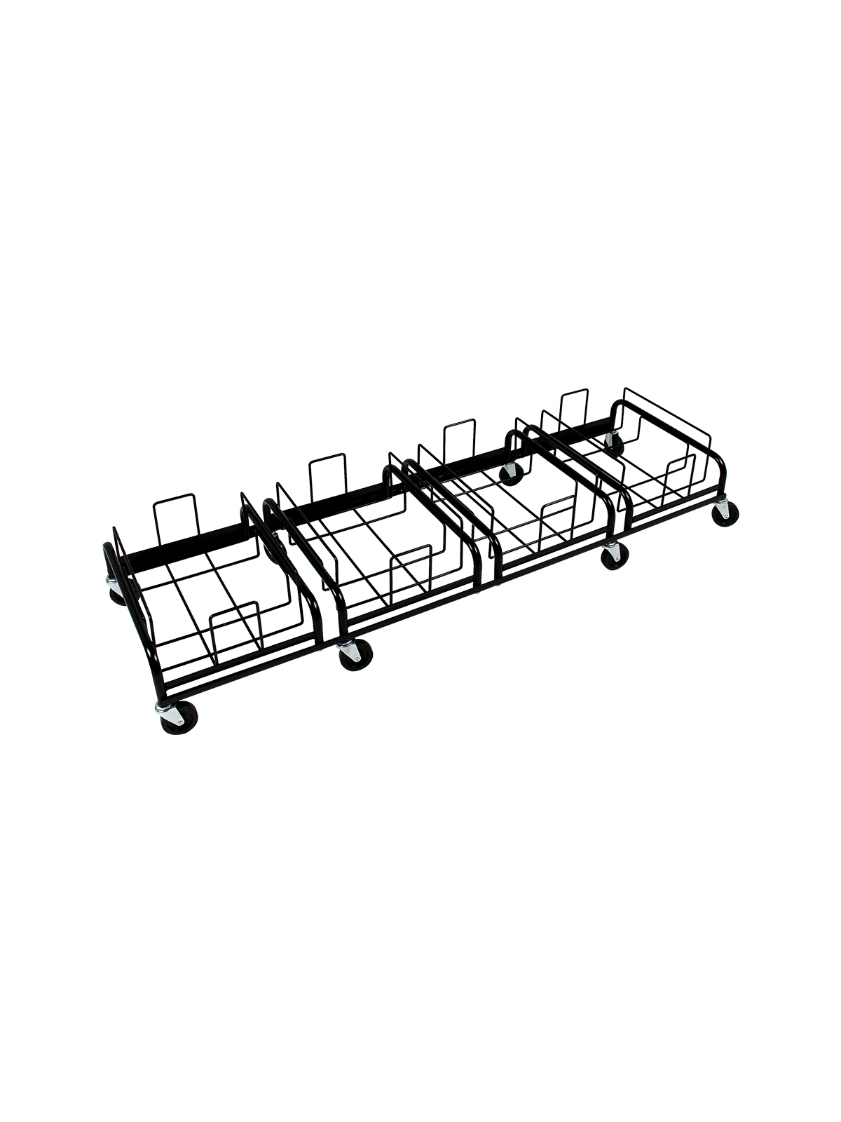 WASTE WATCHER® XL QUAD DOLLY [4 DOLLIES, 8 CASTERS]