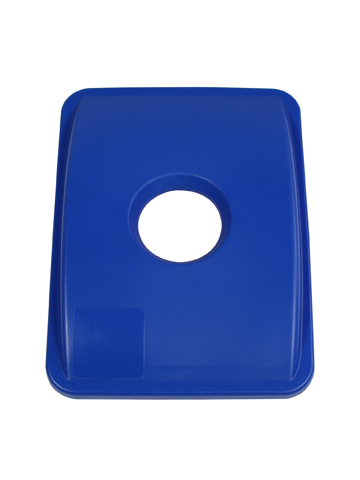 WASTE WATCHER XL - Single - Lid - Circle - Royal Blue
