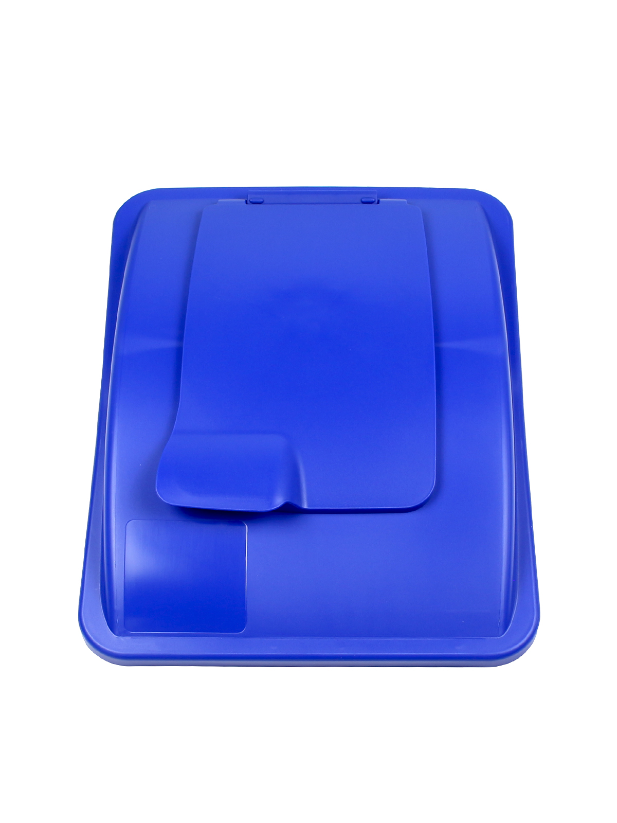WASTE WATCHER® XL - LIFT LID - SOLID OPENING - ROYAL BLUE title=