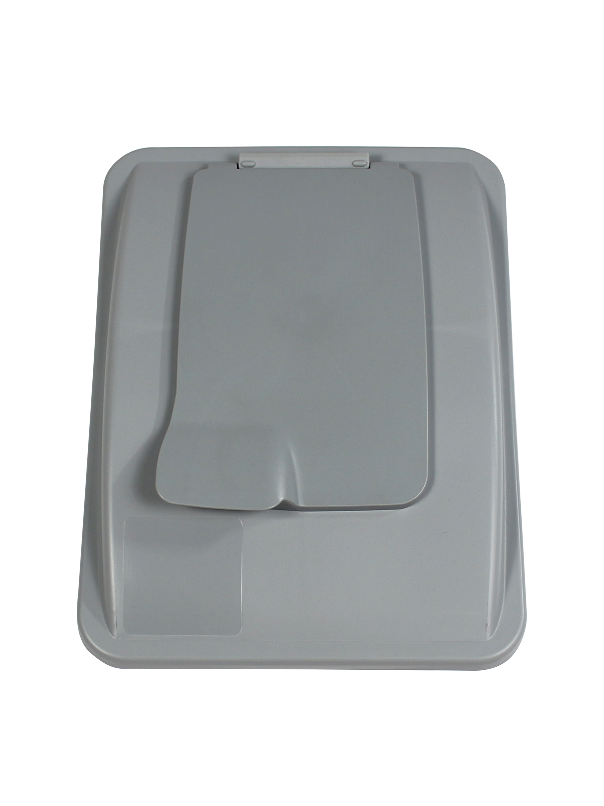 WASTE WATCHER® XL - LIFT LID - SOLID OPENING - EXECUTIVE GREY title=