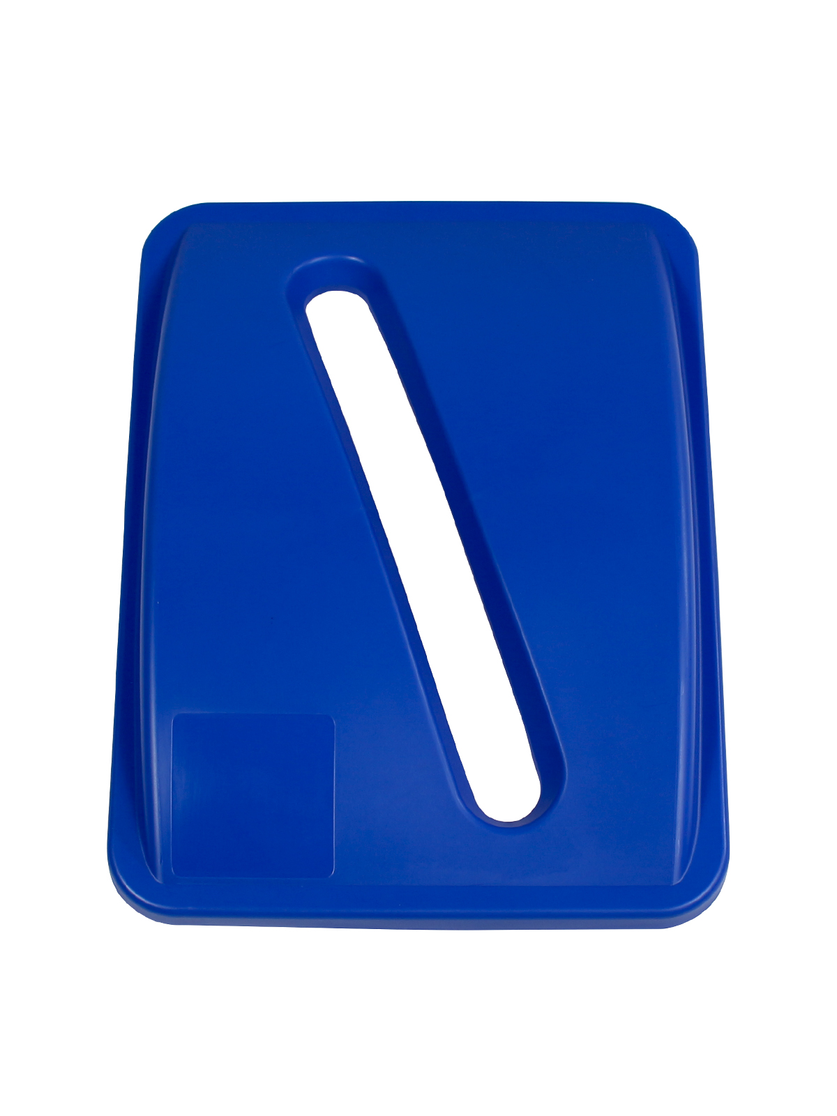 WASTE WATCHER XL - Single - Lid - Slot - Royal Blue
