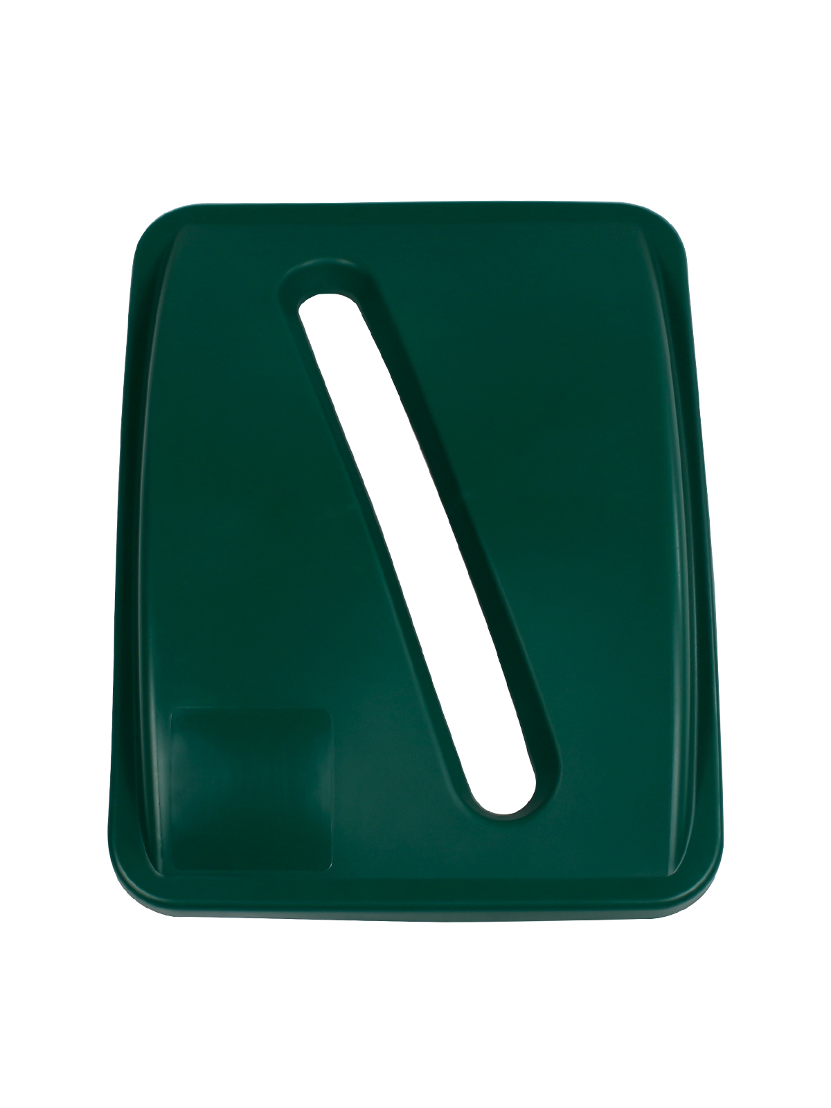 WASTE WATCHER® XL - LID - SLOT OPENING - DARK GREEN title=