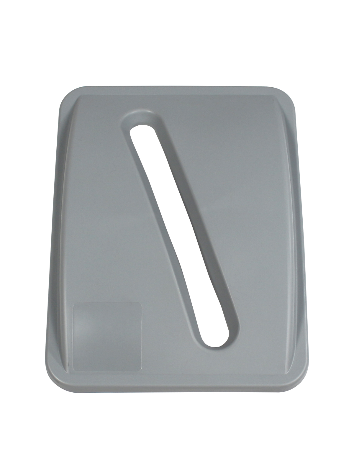 WASTE WATCHER XL - Single - Lid - Slot - Executive Grey