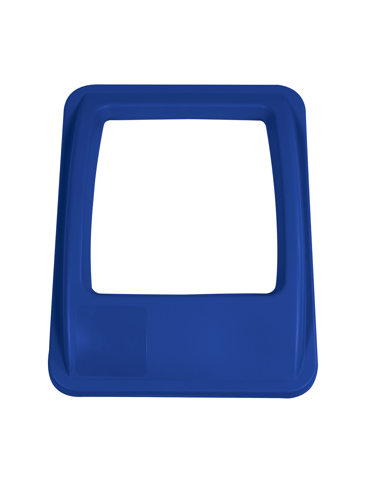 WASTE WATCHER® XL - LID - FULL OPENING - ROYAL BLUE title=