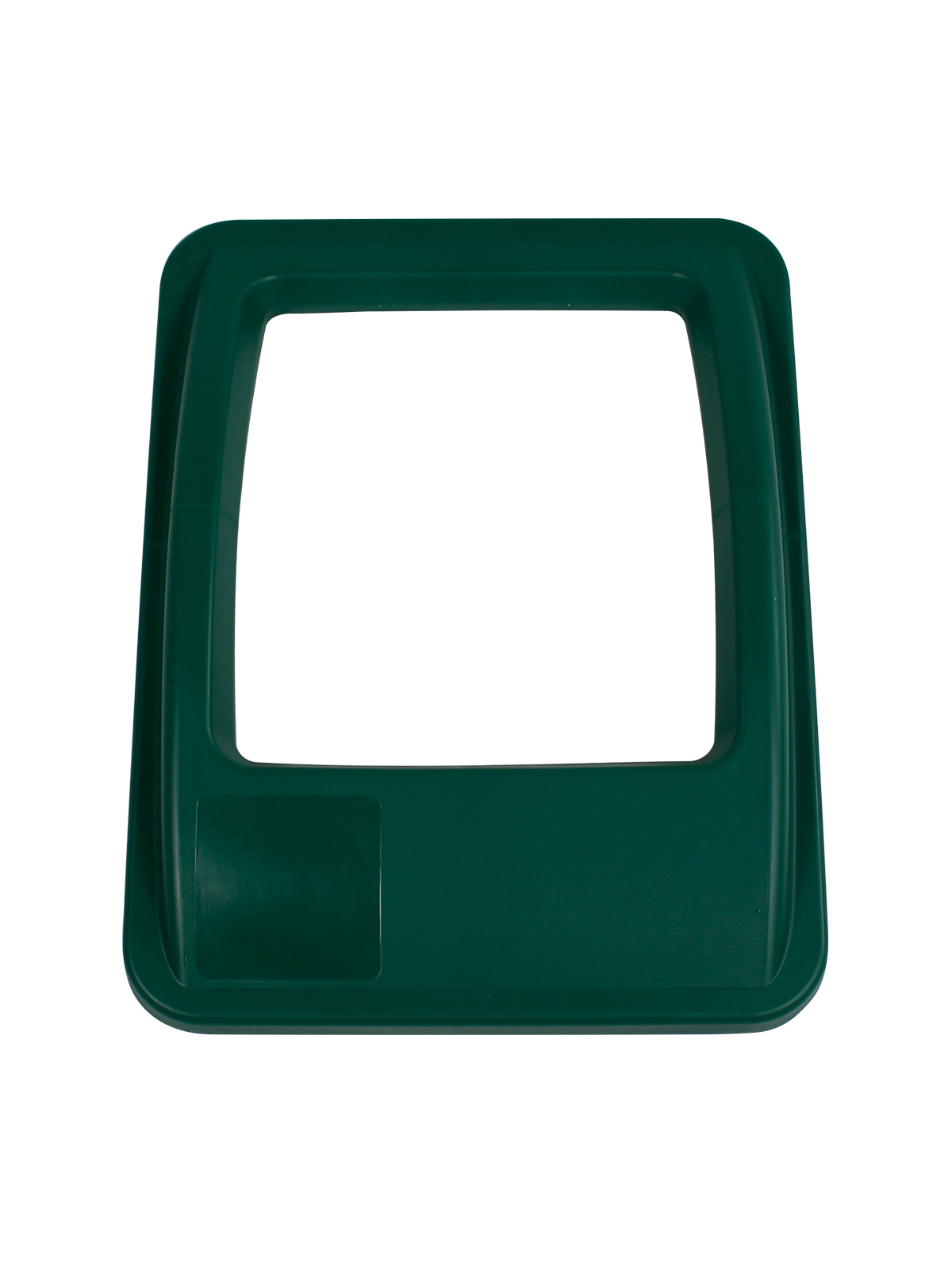 WASTE WATCHER® XL - LID - FULL OPENING - DARK GREEN title=