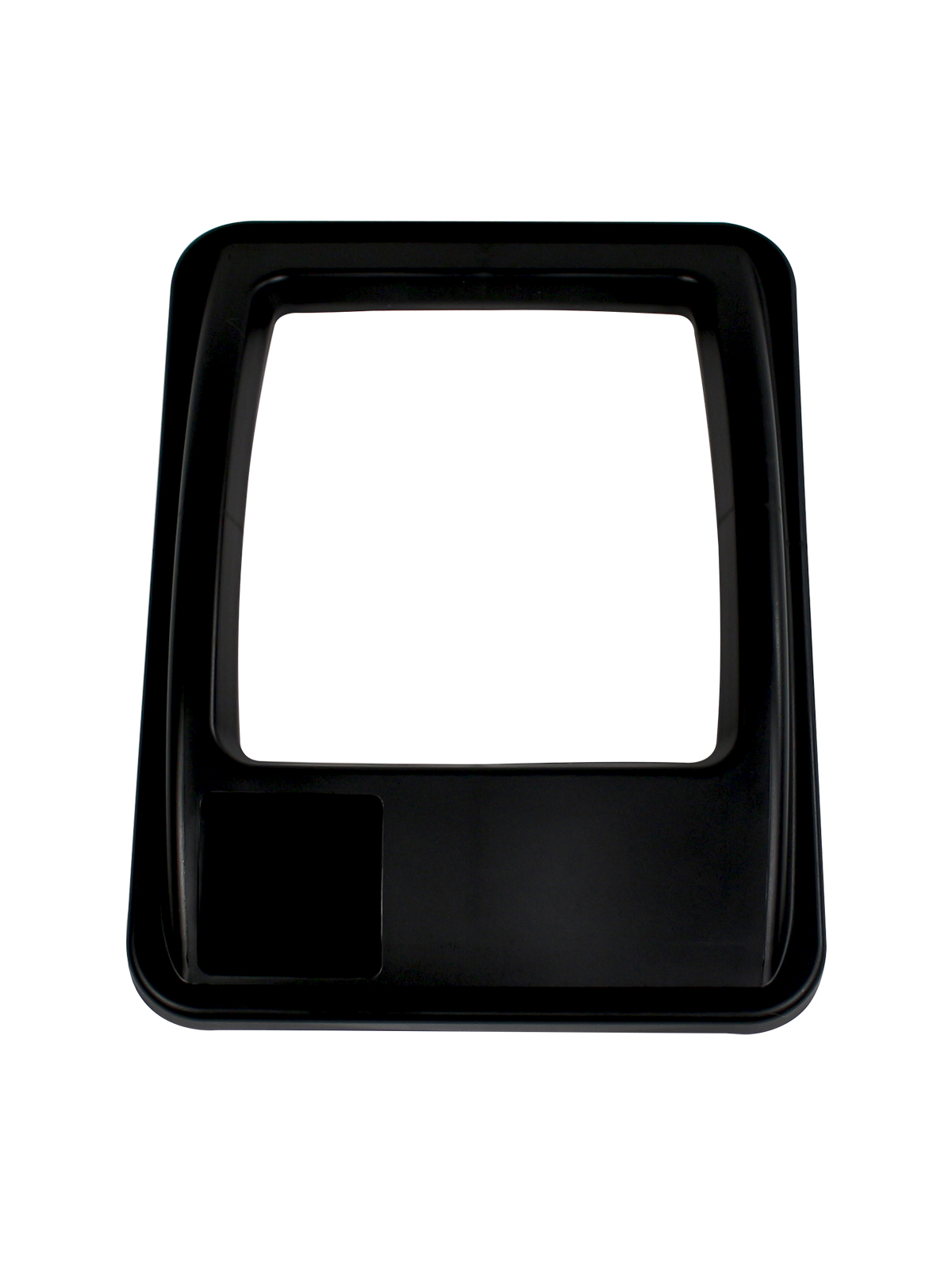 WASTE WATCHER® XL - LID - FULL OPENING - BLACK title=
