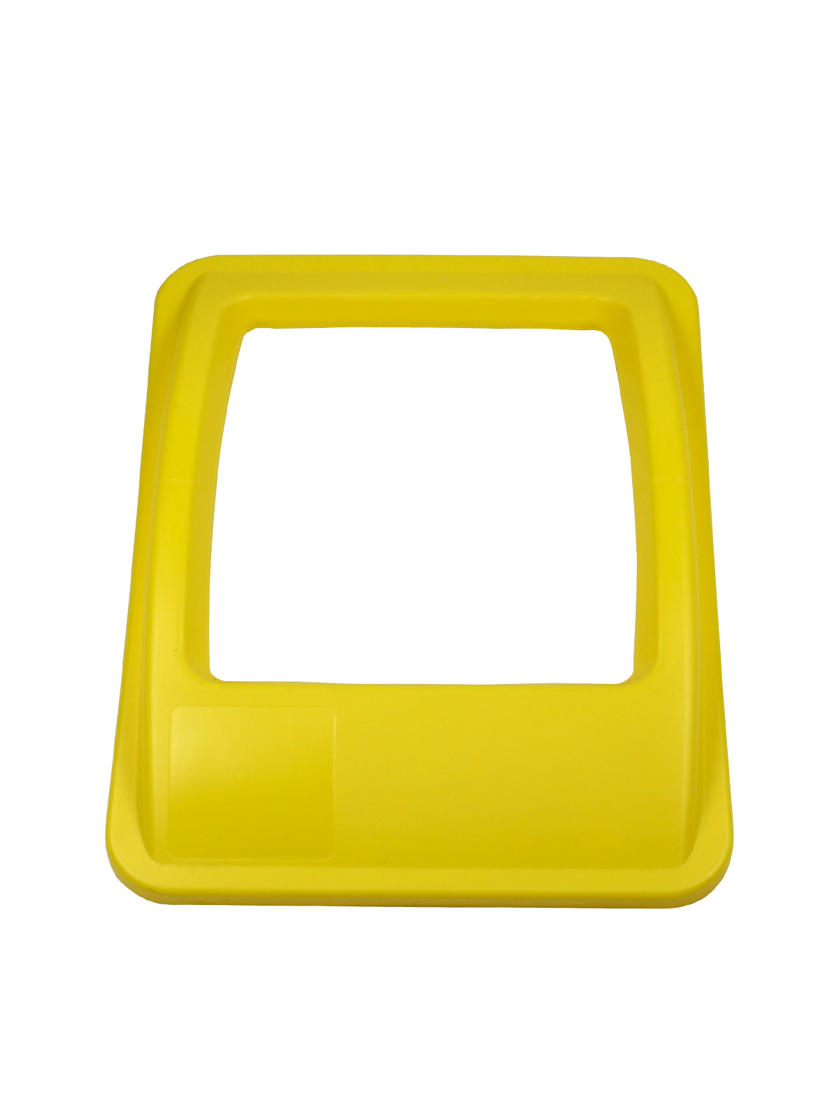 WASTE WATCHER® XL - LID - FULL OPENING - YELLOW title=