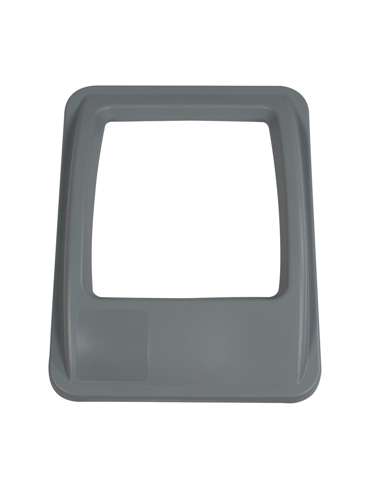 WASTE WATCHER® XL - LID - FULL OPENING - EXECUTIVE GREY title=