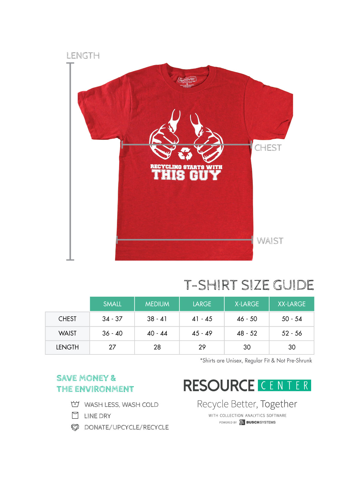 Recycling Starts With This Guy T Shirt